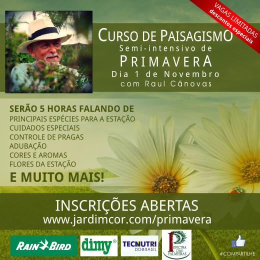 Concurso cultural de Primavera!