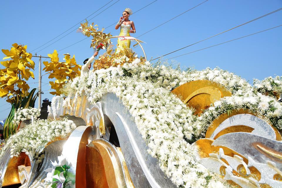 Batalla de las Flores em Barranquilla