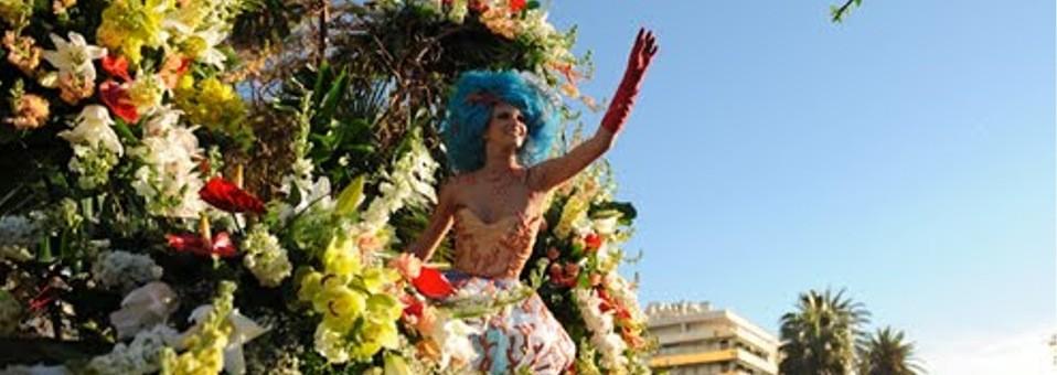Carnaval com flores