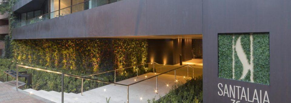 Jardim vertical na Colômbia